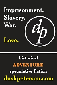 Imprisonment. Slavery. War. Love. Historical adventure speculative fiction.