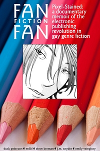 Cover for 'Fan Fiction Fan'